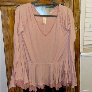 Long sleeve free people top
